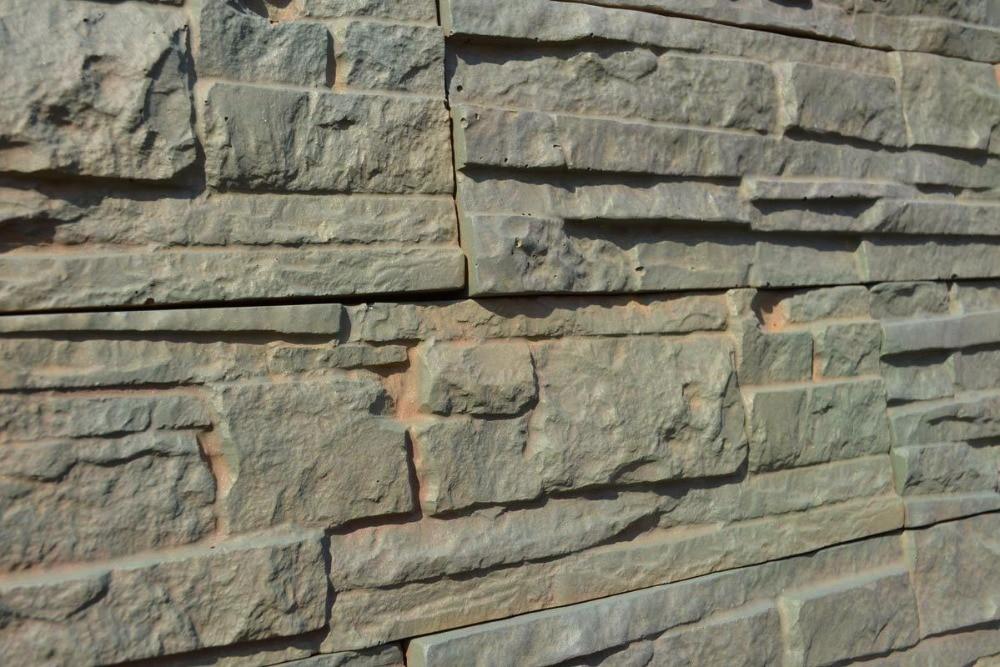 juego de moldes para hormign enlucido de pared de piedra de plstico abs baldosas de