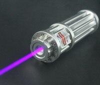 JSHFEI 405nm fioletowy Laser Wysokiej Mocy Spalanie Wskaźnik Laserowy 200 mw Wojskowy Zapalniczki Wiązki