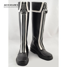 2017 Hot Brand Men Shoes D.Gray Man Allen Walker Cool Cosplay Shoes For Halloween Party Musical