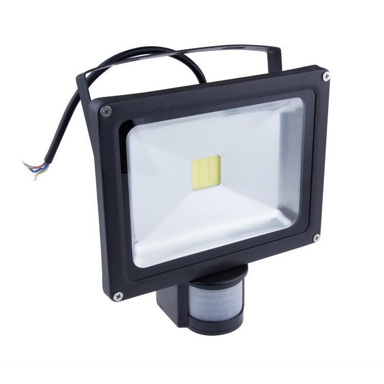 Led Flood Light With Night Sensor