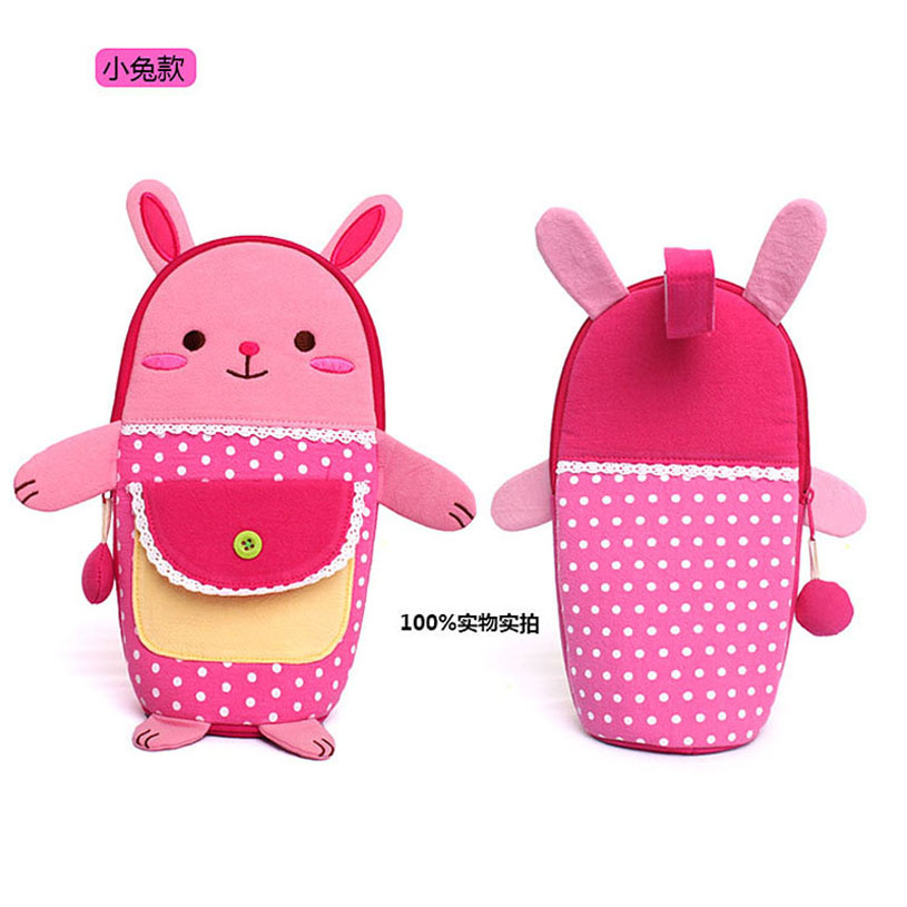 2016 New Hot Insulation Bag Children&Baby Food Thermal Bag 3d Cartoon Watter Thermos Baby Bottle Holders Storage Bag