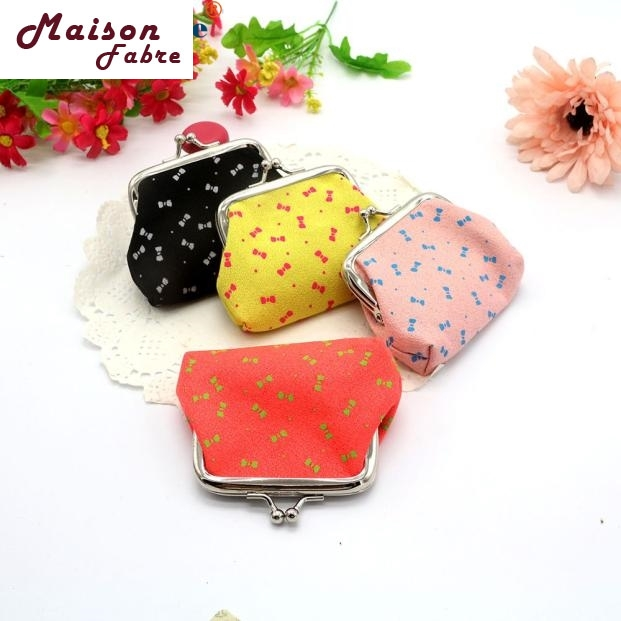 Hot selling coin purse womens Bowknot Pattern Wallet Card Holder Coin Purse Clutch Handbag Dec21 womens wallet card holder coin purse clutch bag handbag lightweight portable and fashionable with famous brand