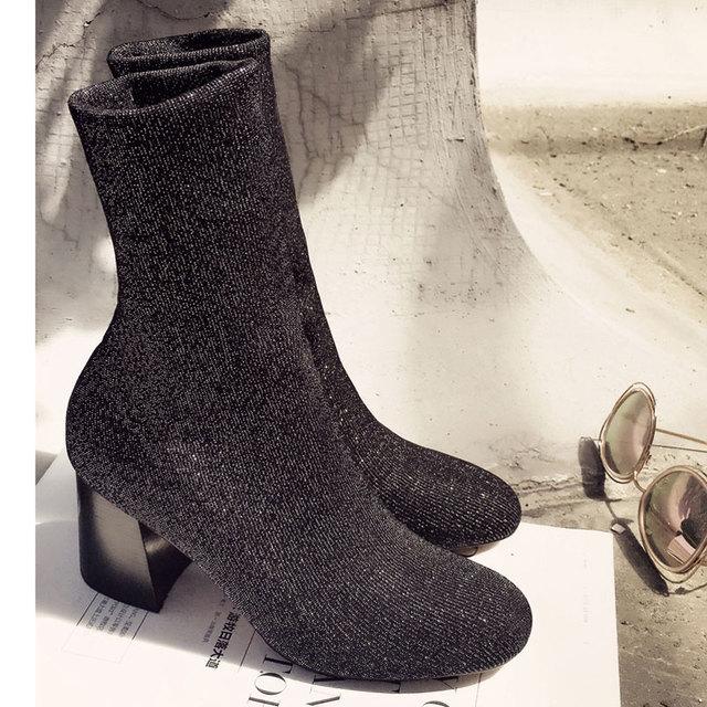 26045a47 Zapatos-de-las-mujeres-2016-de-la-Venta-Caliente-Botines-Zapatos-Lycra-Mujer-Desfile-de- moda.jpg_640x640.jpg