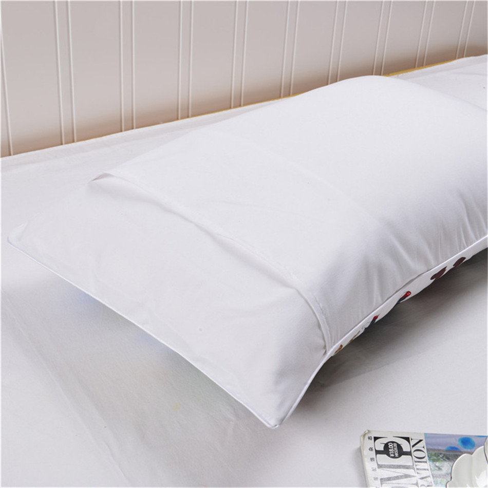 MR MRS Decorative White Couple Pillow Case Pillowcase Cover Home Decoration Gift One Pair Pillows Bedding Set Bedding Outlet  (7)
