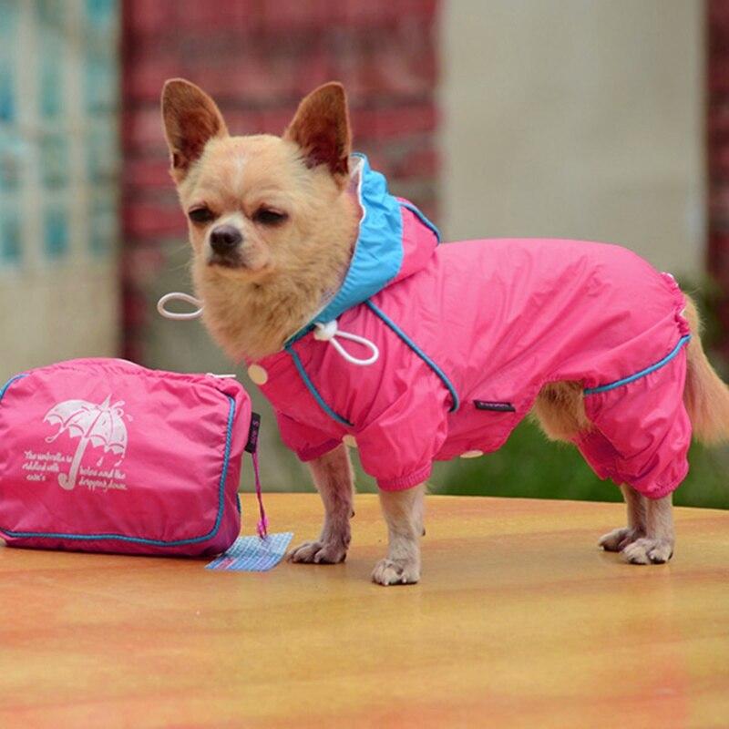 Cane Cane Tuta Impermeabile Cappotto Di Pioggia Giacca Con Cappuccio Giacca A Vento Impermeabile Tuta Vestiti Complessivo Per Gli Animali Domestici