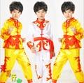 Tradicional chinesa Kung Fu Terno Uniforme Kungfu Shaolin Roupas Para O Menino