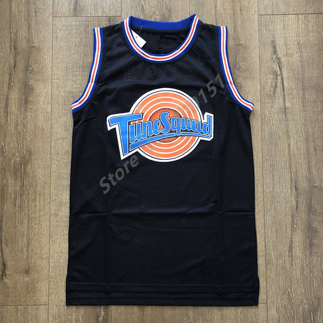 11c419c7 2018 New 23 Michael Jordan Tune Squad Space Jam Looney Tunes Basketball  Jersey Men Size S-XXL