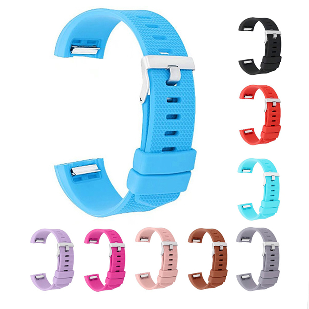 FOR fitbit charge 2 band strap Silicone watchbands For Fitbit charge 2 bracelet smart wristbands Wearable Device Accessories