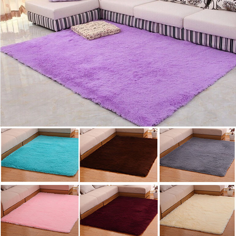 Anti Slip Thick Large Floor Carpets Modern Area Decorator Floor Rug For  Living Room Bedroom Shaggy Rug TB Sale