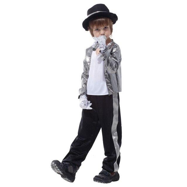 c7a8d0328cfc Effetto Super Star Michael Jackson Gioca Costumi Vestito di Halloween  Costume Party
