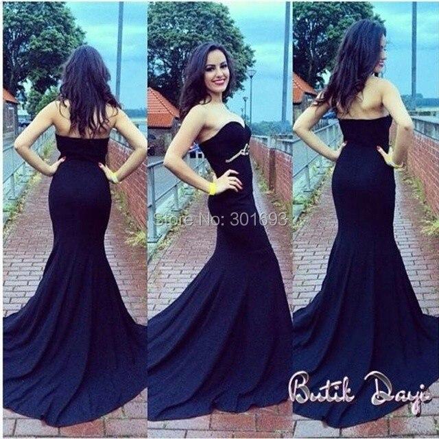 Formal Gown Sexy - ONP189 Vestidos De Festa Royal Blue Satin Sexy Mermaid High Neck Two Piece Prom  Dress 2015USD 149.00/piece