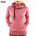 Fashion Brand Women Hoodies Sweatshirt Long Sleeve Hooded Pocket Design Warm Hoodie Women Sudaderas Mujer