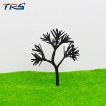 лучшая цена Teraysun tree arm 34mm-64mm each size ho, n ,g scale model plastic tree arm miniature model tree trunk for model making kits