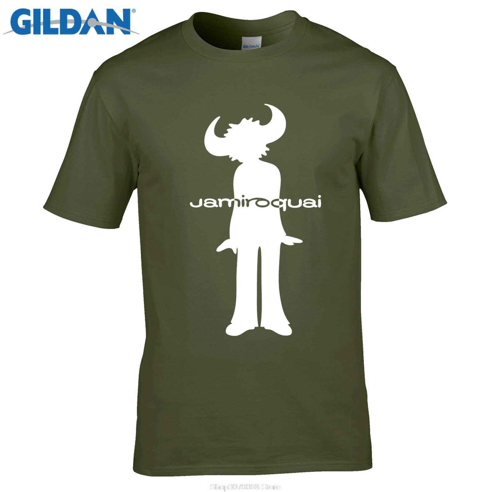 a4cfc9e834ba2 GILDAN Men's O-Neck Short Funny T Shirt Art T-shirt, Maglietta Jamiroquai  Rock Tee Shirt Designer Male Tee Shirt Designer