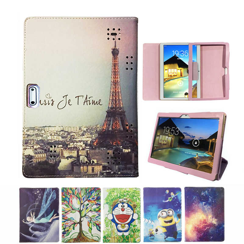 Pu Leather Folio Stand Case Cover Voor Prestigio Multipad Grace 3101 3201 3301 PMT3101/PMT3201/PMT3301_4G_D 10.1 Inch tablet