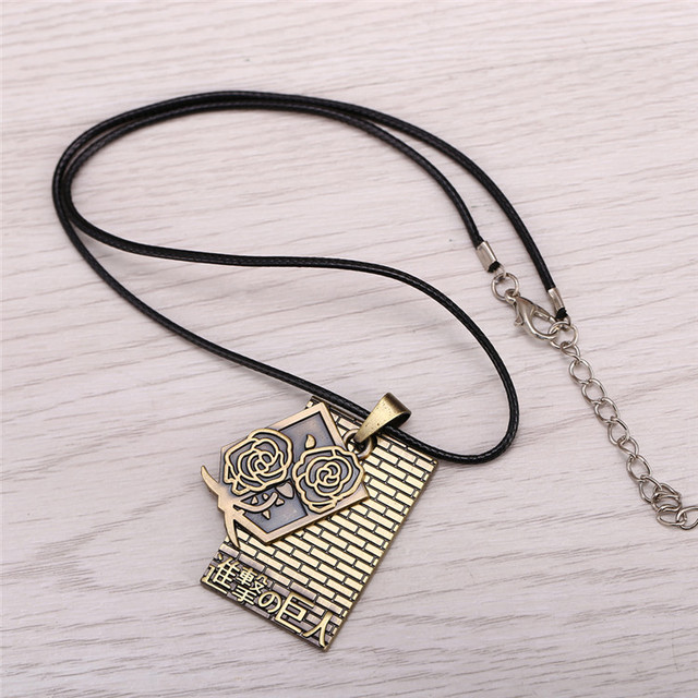Attack on Titan Series Alloy Necklace Pendant