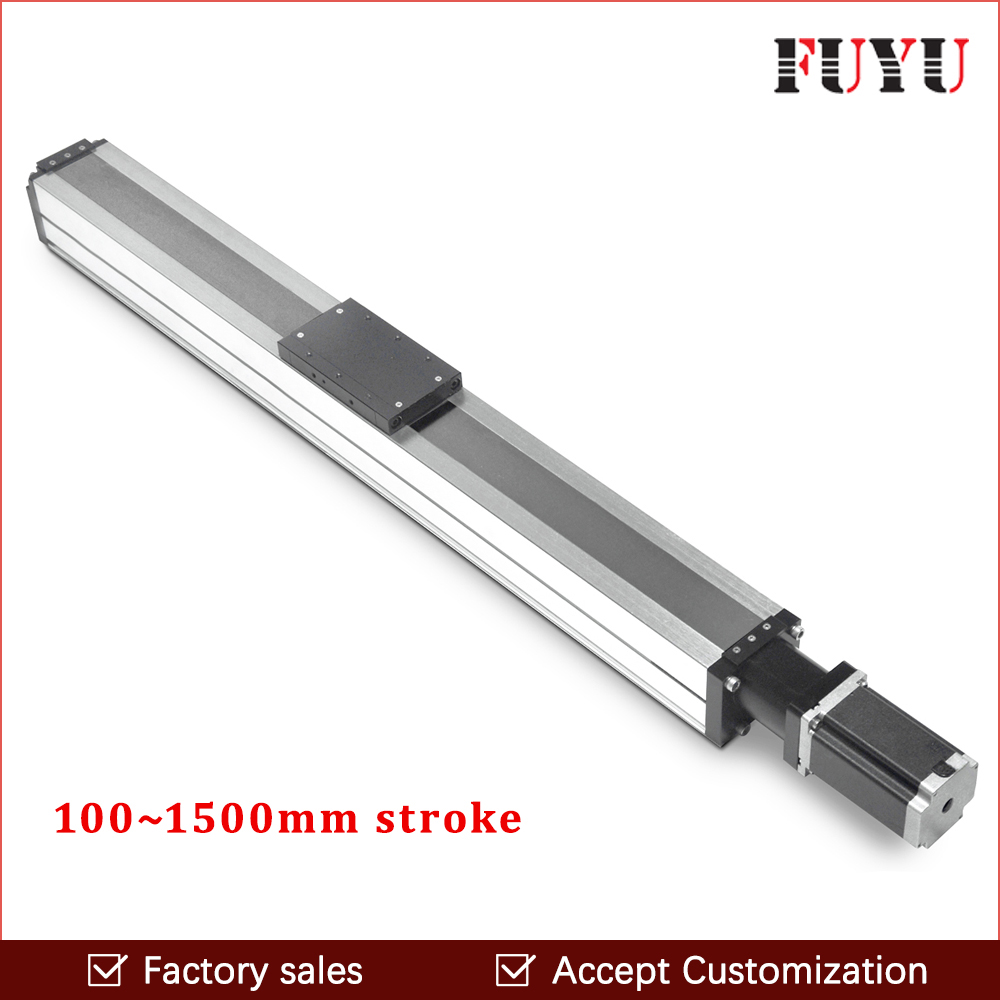 ball screw cnc linear guide rail motion stage slide actuator module nema 24 stepper robotic arm