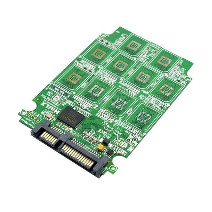 10 x micro sd t-flash cartao de memoria tf para adaptador adaptador de conector sata ssdcartao com raid quad 2.5 polegadas SATA