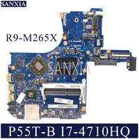 KEFU VG20SQG/20CQG Laptop motherboard for Toshiba Satellite P55T B P50 B original mainboard I7 4710HQ/4720HQ R9 M265X