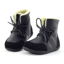 SKEHK Girls Winter Boots Children Shoes Kids Snow Boots Double Side Soft Leather Plush Boots Boy Warm Shoes Beige Black Yellow платье laura amatti нежная радость цвет сиреневый