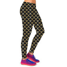 2016 New Size S-XL Women Running Sport Pants Leggings Fitness with Printed Stretch Cropped Gym