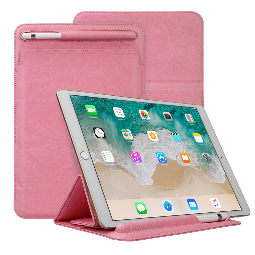Improved Leather Sleeve Pouch for iPad Pro 10.5 2017 Case for iPad Pro 9.7 Sleeve Bag with Pencil Slot Holder Soft Folding Cover improved milk processing techniques