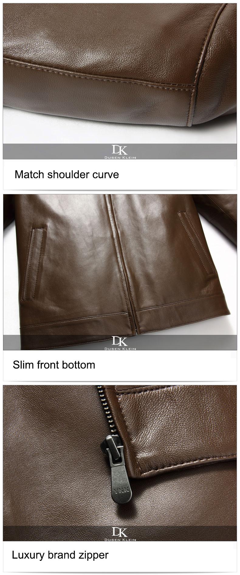 Leather Genuine Dusen Autumn 8