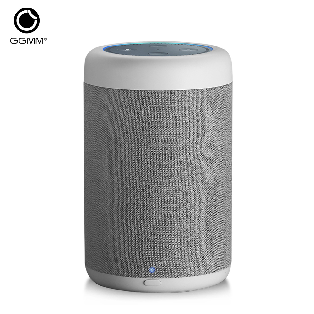 GGMM D6 Portable Speaker for Amazon Echo Dot 2nd Generation 20W Powerful for Alexa Speaker With 5200mAh Battery (Without Dot)