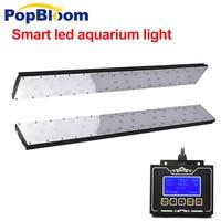 DSunY 2 шт. smart led свет аквариума akvaryum светодиодный Риф Танк acuario Затемнения полный спектр с arm монтажный комплект FF9BP2