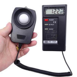 TES-1332A Digital Lux Lichtmeter Photometer Draagbare Thermometer
