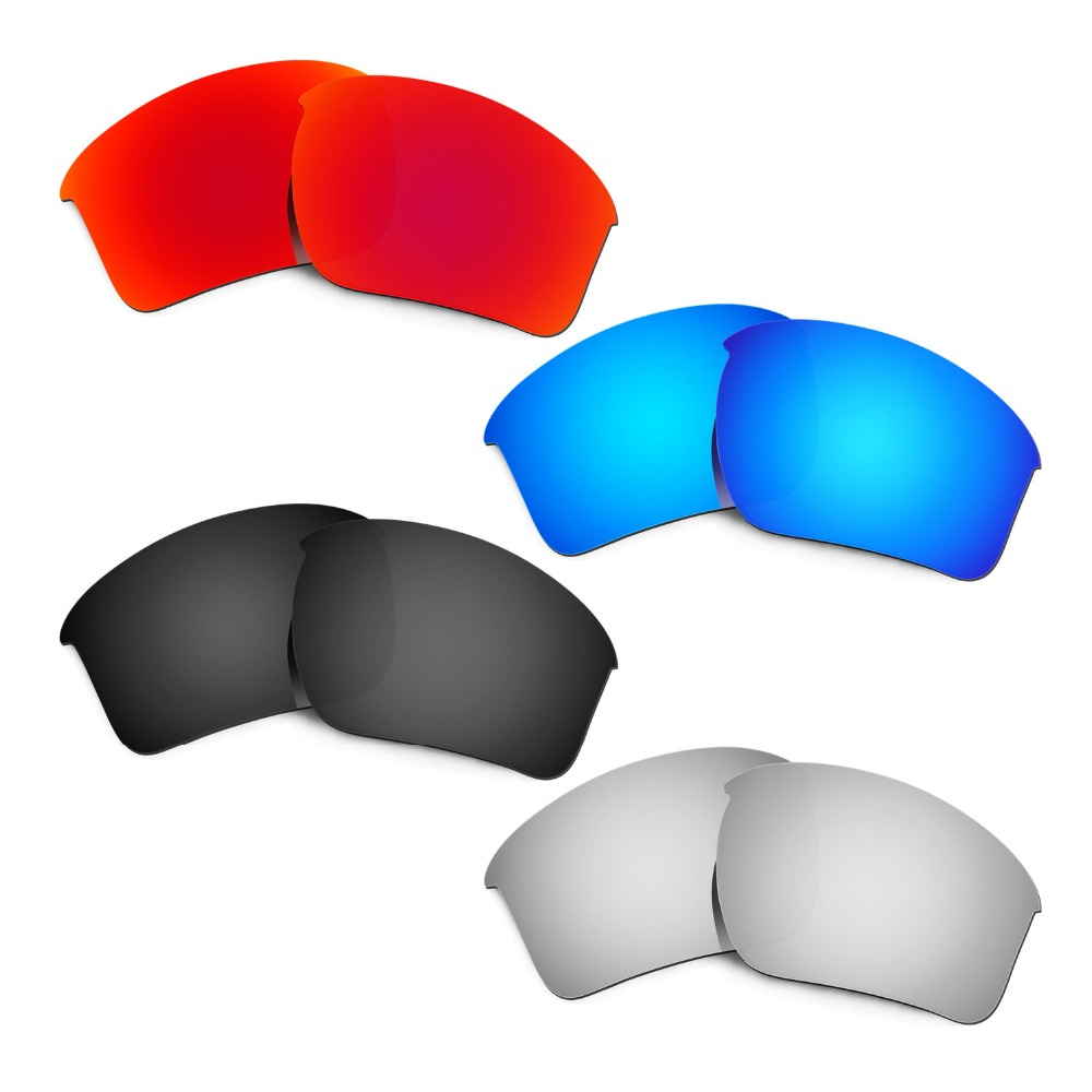 HKUCO Mens Replacement Lenses For Oakley Frogskins (Asia Fit) - 4 pair hMbzv8lvOF