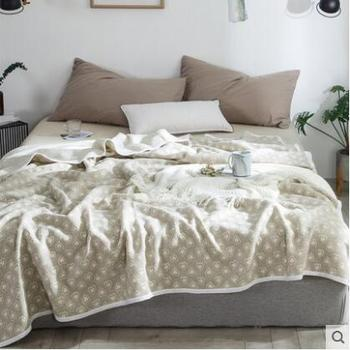Cotton knitted High quality throw blanket fleece blankets for beds sofa warm bedspread