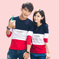 2016 Valentine's Day Gifts New Men Women Long Sleeve T Shirts Letter Print Matching Couple Clothes Lovers Casual Couple T-Shirt