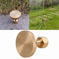 WCIC 7 Holes Internal Thread Misting Nozzles Brass Water Sprayer Nozzle Garden Lawn Agriculture Sprinklers Irrigation Fitting