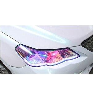 Image 5 - Etiqueta de protección de luz antiniebla para faro de coche, calcomanías de envoltura de vinilo para película