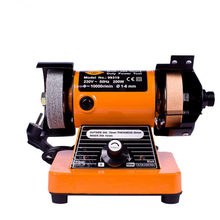 лучшая цена Mini Bench Grinder Household Diy Polishing Machine Micro Desktop Polishing Lathe Electric Grinder 99319