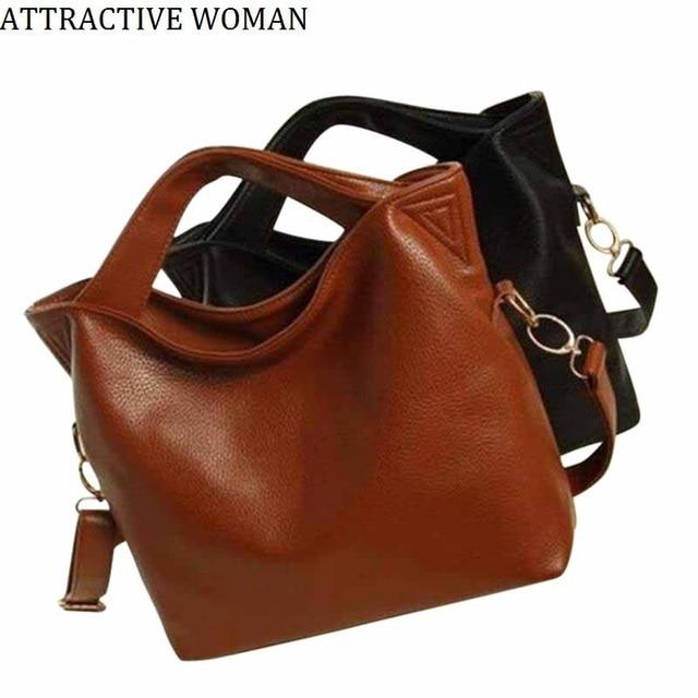 Sales Promotion!2018 Russia Women s Leather Bag Big Shoulder Bags Women  Messenger Bags Handbags Women 5ebfc30b8fe9e