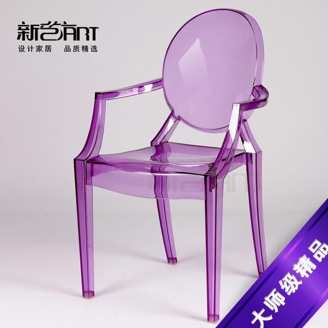 President Fantome Diable Chaises Acrylique Transparent En Plastique Chaise Fauteuil IKEA Createur Styliste