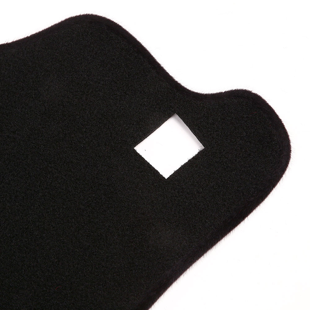 Vehemo фетр ткань силиконовые скольжения приборной панели коврики приборной панели Крышка Тире Запчасти черный Двигатели Запчасти