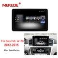 Mekede Auto Multimedia-player Autoradio Auto Radio Audio Für Mercedes Benz Benz ML W166 2012 zu 2015 mit 4G wifi bluetooth navi