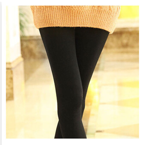 High Quality 9 Colors Womens Warm Solid  Winter Skinny Slim Leggings Stretch Pants Thick Footless Sexy