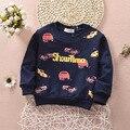 Детский Свитер Кофты 1-4Y Детские Мальчики Теплый Кофты Девушки Мило Свитер Дети Мода Верхней Одежды Младенческой Moletons