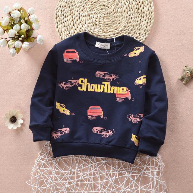 1-4Y Kids Niños Bebés Calientes del Suéter de los niños Sudaderas Moletons Sudaderas Girls Lindo Suéter Moda Infantil Ropa Infantil Superior