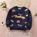 Children 's Sweater Sweatshirts 1-4Y Kids Baby Boys Warm Sweatshirts Girls Cute Sweater Kids Fashion Top Clothes Infant Moletons
