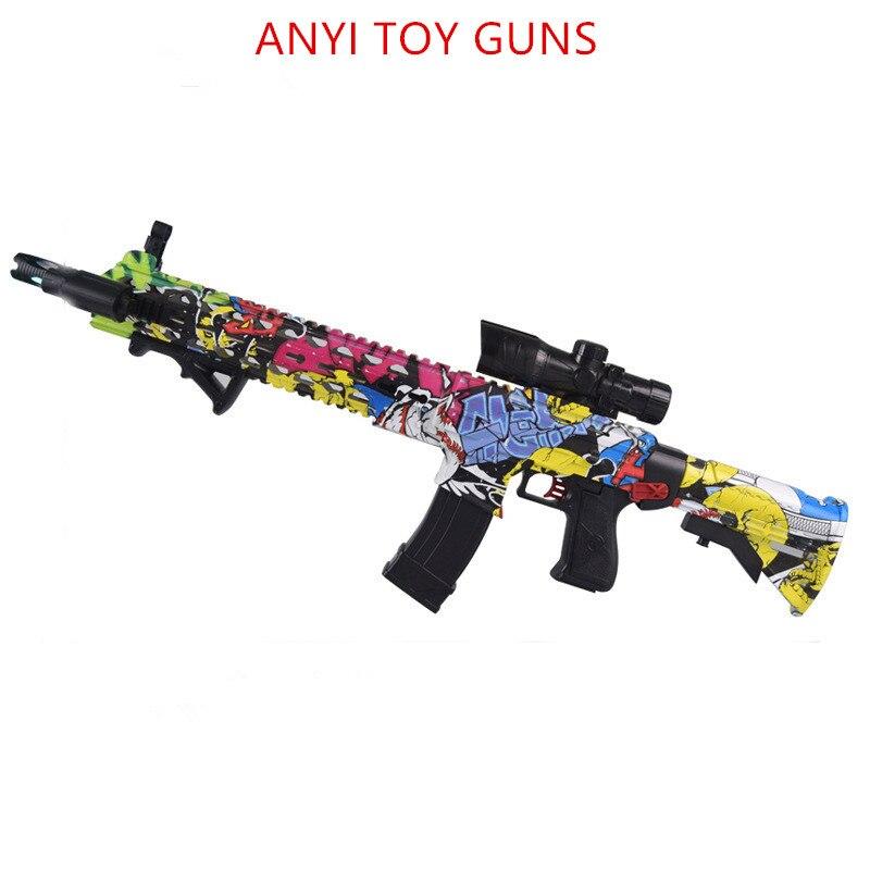 Ak47 en plastique jouet pistolet wat M4 Jouet Pistolet Gel Boule Blaster Sniper pour Enfants En Plein Air Passe-Temps airsoft pistolets à air M4 en plastique jouet pistolet pistolet à eau