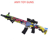 ak47 plastic toy gun wat M4 Toy Gun Gel Ball Blaster Sniper For Children Outdoor Hobby airsoft air guns M4 plastic toy gun water