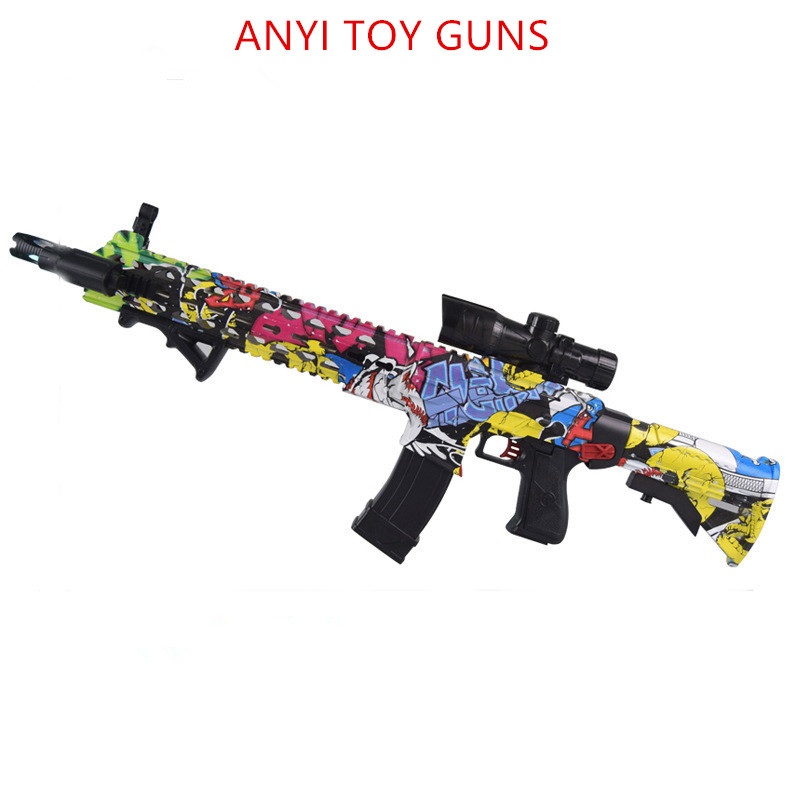 ak47 plastic toy gun wat M4 Toy Gun Gel Ball Blaster Sniper For Children Outdoor Hobby airsoft air guns M4 plastic toy gun water the children toy of plastic moulds