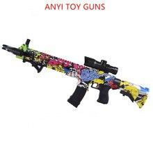 Ak47 пластиковый пистолет игрушка Ват M4 игрушечный пистолет гель-шарик бластер Снайпер для детей Открытый хобби страйкбол воздушного guns M4 пластиковые игрушечный водный пистолет