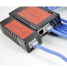 Top Качество NF-468 Сети Tool Kit Ethernet Кабельный Тестер RJ45 RJ11 телефонной линии тестер Регулируемая скорость испытания Подарки