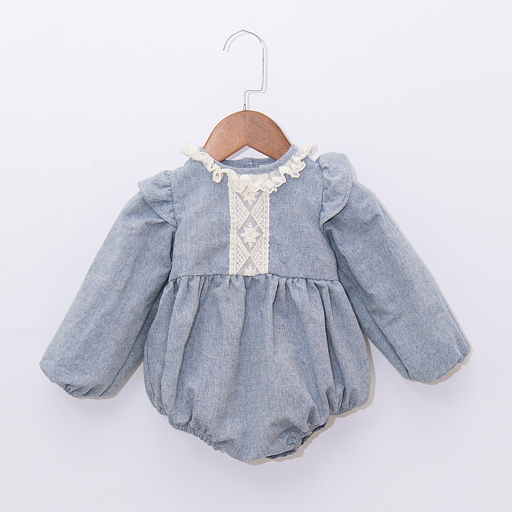 European Baby Girls Romper,Spanish Linen Baby Girls Outfit,Baby Playsuit Toddler,Vintage Newborn Baby Linen Bodysuit with Bonnet (10)